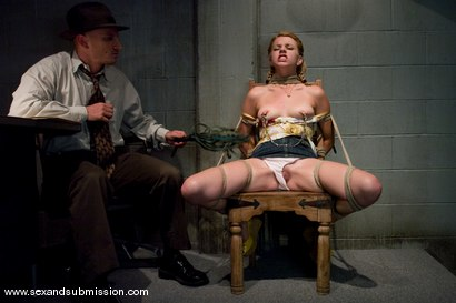 Photo number 2 from The Investigator shot for Sex And Submission on Kink.com. Featuring Mr. Pete and Lexi Belle in hardcore BDSM & Fetish porn.