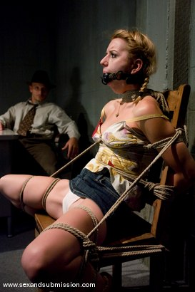 Photo number 1 from The Investigator shot for Sex And Submission on Kink.com. Featuring Mr. Pete and Lexi Belle in hardcore BDSM & Fetish porn.