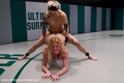 Photo number 14 from Edited version of Aug. 19ths live<br> semi-final match up. shot for Ultimate Surrender on Kink.com. Featuring Syd Blakovich and Dee Williams in hardcore BDSM & Fetish porn.
