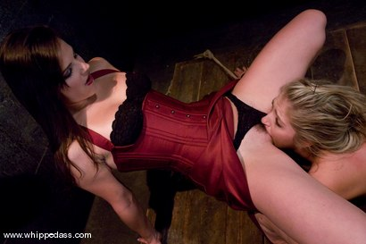 Photo number 5 from Jaelyn Fox shot for Whipped Ass on Kink.com. Featuring Bobbi Starr and Jaelyn Fox in hardcore BDSM & Fetish porn.