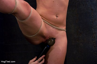 Photo number 8 from Dylan, new to Hogtied <br> but not to squirting orgasms shot for Hogtied on Kink.com. Featuring Dylan Ryan and Damon Pierce in hardcore BDSM & Fetish porn.
