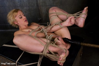 Photo number 9 from Dylan, new to Hogtied <br> but not to squirting orgasms shot for Hogtied on Kink.com. Featuring Dylan Ryan and Damon Pierce in hardcore BDSM & Fetish porn.
