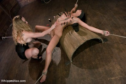 Photo number 7 from Devi Emerson shot for Whipped Ass on Kink.com. Featuring Devi Emerson and Aiden Starr in hardcore BDSM & Fetish porn.