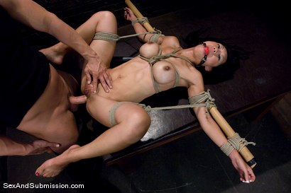 Photo number 12 from Tia Ling shot for Sex And Submission on Kink.com. Featuring Derrick Pierce and Tia Ling in hardcore BDSM & Fetish porn.