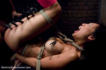 Photo number 7 from Tia Ling shot for Sex And Submission on Kink.com. Featuring Derrick Pierce and Tia Ling in hardcore BDSM & Fetish porn.