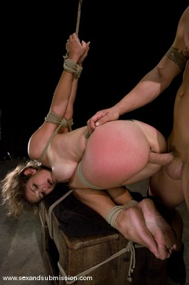 Photo number 10 from Felony shot for Sex And Submission on Kink.com. Featuring Derrick Pierce and Felony in hardcore BDSM & Fetish porn.