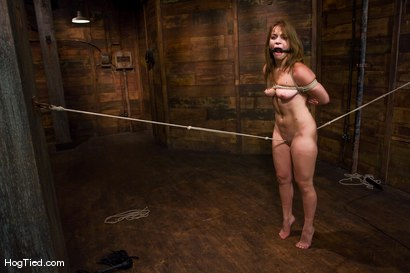 Photo number 6 from Defiant Kirra learns to love being dominated shot for Hogtied on Kink.com. Featuring Kirra Lynne and Amber Rayne in hardcore BDSM & Fetish porn.
