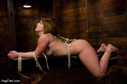Photo number 7 from Defiant Kirra learns to love being dominated shot for Hogtied on Kink.com. Featuring Kirra Lynne and Amber Rayne in hardcore BDSM & Fetish porn.