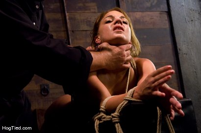 Photo number 8 from Defiant Kirra learns to love being dominated shot for Hogtied on Kink.com. Featuring Kirra Lynne and Amber Rayne in hardcore BDSM & Fetish porn.