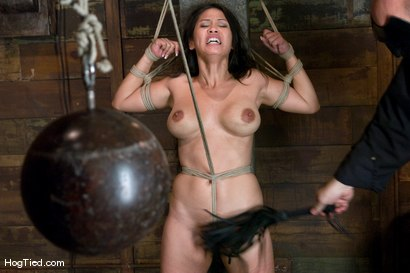 Photo number 14 from Jessica really lets us know how much she loves to cum! shot for Hogtied on Kink.com. Featuring Jessica Bangkok in hardcore BDSM & Fetish porn.