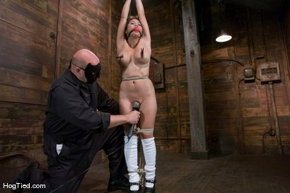Photo number 4 from Jessica really lets us know how much she loves to cum! shot for Hogtied on Kink.com. Featuring Jessica Bangkok in hardcore BDSM & Fetish porn.
