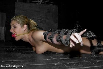 Photo number 6 from Rods shot for Device Bondage on Kink.com. Featuring Hollie Stevens and Sgt. Major in hardcore BDSM & Fetish porn.