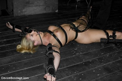 Photo number 5 from Rods shot for Device Bondage on Kink.com. Featuring Hollie Stevens and Sgt. Major in hardcore BDSM & Fetish porn.