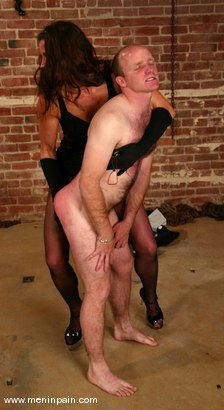 Photo number 6 from Mike and Kym Wilde shot for Men In Pain on Kink.com. Featuring Mike and Kym Wilde in hardcore BDSM & Fetish porn.