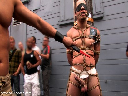 Photo number 8 from Bonus Update: Van, Wolf and Rico at the 2008 Up Your Alley Fair shot for Bound Gods on Kink.com. Featuring Wolf Hudson, Van Darkholme and Rico in hardcore BDSM & Fetish porn.