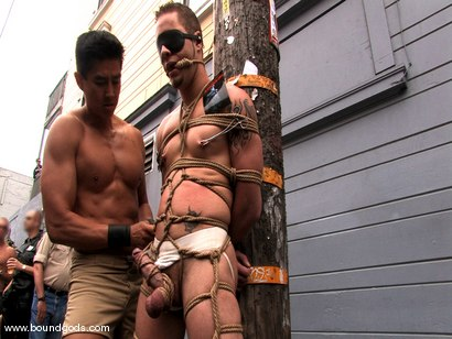 Photo number 11 from Bonus Update: Van, Wolf and Rico at the 2008 Up Your Alley Fair shot for Bound Gods on Kink.com. Featuring Wolf Hudson, Van Darkholme and Rico in hardcore BDSM & Fetish porn.