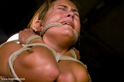 Photo number 9 from Welcome back California girl Trina Michaels<br>with her beautiful tan and huge breasts. shot for Hogtied on Kink.com. Featuring Trina Michaels and Damon Pierce in hardcore BDSM & Fetish porn.