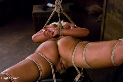 Photo number 9 from Welcome the amazing beautiful<br> Bridgette B to her first Hogtied shoot. shot for Hogtied on Kink.com. Featuring Bridgette B and Damon Pierce in hardcore BDSM & Fetish porn.