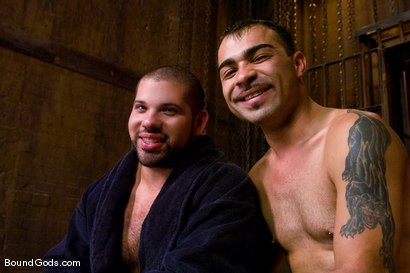 Photo number 15 from Hard Discipline shot for Bound Gods on Kink.com. Featuring Alessandro Del Toro, Rico and Van Darkholme in hardcore BDSM & Fetish porn.