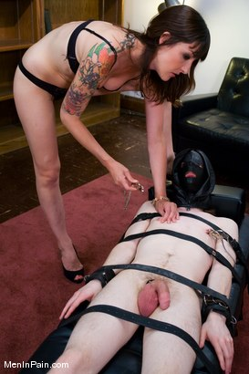 Photo number 10 from Kade and Lexi Bardot shot for Men In Pain on Kink.com. Featuring Kade and Lexi Bardot in hardcore BDSM & Fetish porn.