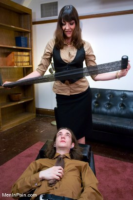 Photo number 2 from Kade and Lexi Bardot shot for Men In Pain on Kink.com. Featuring Kade and Lexi Bardot in hardcore BDSM & Fetish porn.