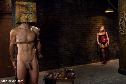 Photo number 2 from A Lovely Couple shot for Men In Pain on Kink.com. Featuring Harmony and totaleurosex in hardcore BDSM & Fetish porn.