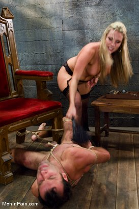 Photo number 12 from A Lovely Couple shot for Men In Pain on Kink.com. Featuring Harmony and totaleurosex in hardcore BDSM & Fetish porn.