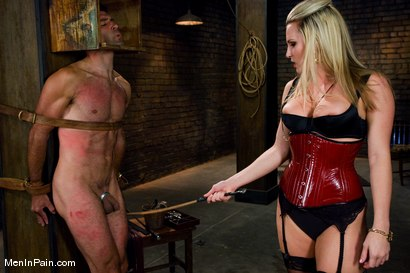 Photo number 3 from A Lovely Couple shot for Men In Pain on Kink.com. Featuring Harmony and totaleurosex in hardcore BDSM & Fetish porn.