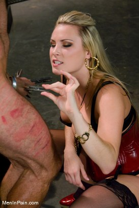 Photo number 7 from A Lovely Couple shot for Men In Pain on Kink.com. Featuring Harmony and totaleurosex in hardcore BDSM & Fetish porn.
