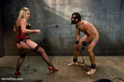 Photo number 8 from A Lovely Couple shot for Men In Pain on Kink.com. Featuring Harmony and totaleurosex in hardcore BDSM & Fetish porn.