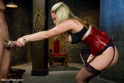 Photo number 4 from A Lovely Couple shot for Men In Pain on Kink.com. Featuring Harmony and totaleurosex in hardcore BDSM & Fetish porn.