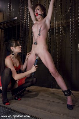 Photo number 7 from Riley Shy and Sasha Grey shot for Whipped Ass on Kink.com. Featuring Sasha Grey and Riley Shy in hardcore BDSM & Fetish porn.