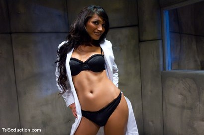 Photo number 2 from Yasmin Lee, Ranger shot for TS Seduction on Kink.com. Featuring Yasmin Lee and Ranger in hardcore BDSM & Fetish porn.