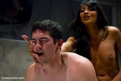 Photo number 10 from Yasmin Lee, Ranger shot for TS Seduction on Kink.com. Featuring Yasmin Lee and Ranger in hardcore BDSM & Fetish porn.