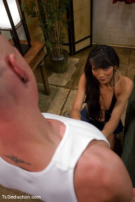 Photo number 1 from Full service spa shot for TS Seduction on Kink.com. Featuring Yasmin Lee and Chad Rock in hardcore BDSM & Fetish porn.