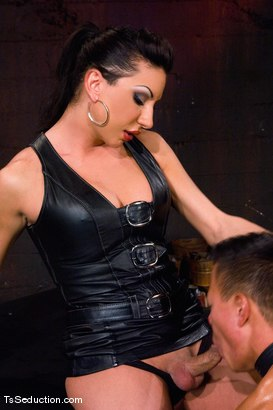 Photo number 11 from The New Pet shot for TS Seduction on Kink.com. Featuring Ariel Everitts and Aaron Lee in hardcore BDSM & Fetish porn.