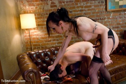 Photo number 9 from La Cherry Spice, Dorian shot for TS Seduction on Kink.com. Featuring La Cherry Spice and Dorian in hardcore BDSM & Fetish porn.