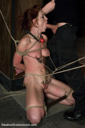 Photo number 12 from Riley Shy: A Bonus Update! shot for Sex And Submission on Kink.com. Featuring James Deen and Riley Shy in hardcore BDSM & Fetish porn.