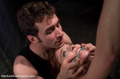 Photo number 8 from Riley Shy: A Bonus Update! shot for Sex And Submission on Kink.com. Featuring James Deen and Riley Shy in hardcore BDSM & Fetish porn.