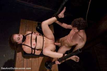 Photo number 8 from Kirra Lynne shot for Sex And Submission on Kink.com. Featuring James Deen and Kirra Lynne in hardcore BDSM & Fetish porn.