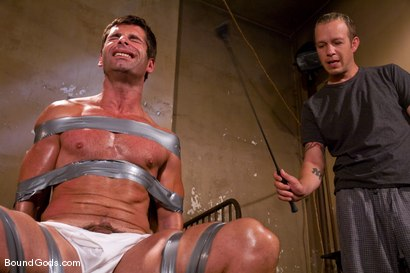Photo number 2 from Predator vs. Predator shot for Bound Gods on Kink.com. Featuring Rod Barry and Luka in hardcore BDSM & Fetish porn.