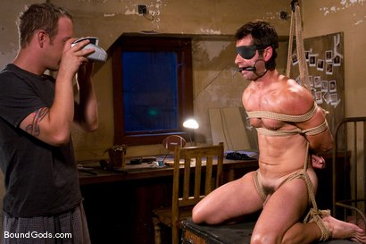 Photo number 7 from Predator vs. Predator shot for Bound Gods on Kink.com. Featuring Rod Barry and Luka in hardcore BDSM & Fetish porn.