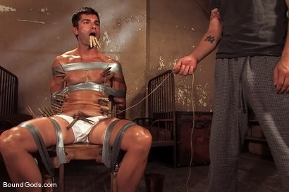 Photo number 1 from Predator vs. Predator shot for Bound Gods on Kink.com. Featuring Rod Barry and Luka in hardcore BDSM & Fetish porn.