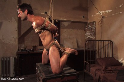 Photo number 8 from Predator vs. Predator shot for Bound Gods on Kink.com. Featuring Rod Barry and Luka in hardcore BDSM & Fetish porn.