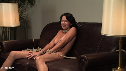 Photo number 15 from Casting Couch 1<br />Kink.com tapes an actual casting call: Realism at its best! shot for Hogtied on Kink.com. Featuring Victoria K in hardcore BDSM & Fetish porn.