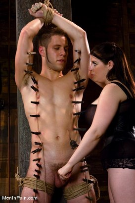 Photo number 4 from Daphne shot for Men In Pain on Kink.com. Featuring Wolf Hudson and Daphne Rosen in hardcore BDSM & Fetish porn.