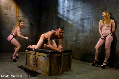 Photo number 7 from The Sadist's Apprentice shot for Men In Pain on Kink.com. Featuring Rico, Madison Young and Aiden Starr in hardcore BDSM & Fetish porn.
