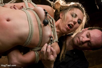 Photo number 7 from Sasha Lexing takes a beating in stride and then some shot for Hogtied on Kink.com. Featuring Sasha Lexing in hardcore BDSM & Fetish porn.