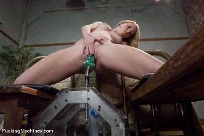Photo number 5 from A Strawberry Blonde Gold Mine - Ami Emerson shot for Fucking Machines on Kink.com. Featuring Ami Emerson in hardcore BDSM & Fetish porn.