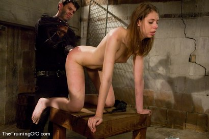 Photo number 7 from The Training of Kristine, Day One shot for The Training Of O on Kink.com. Featuring Maestro and Kristine in hardcore BDSM & Fetish porn.
